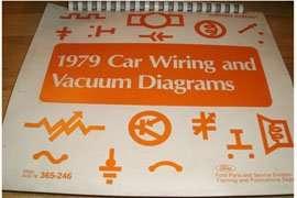 1979 Ford LTD II & Ranchero Large Format Electrical Wiring ...