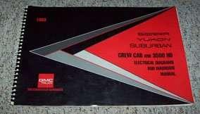 1993 GMC Sierra, Yukon & Suburban Electrical Wiring ...