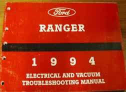1994 Ford Ranger Electrical Wiring Diagrams ...
