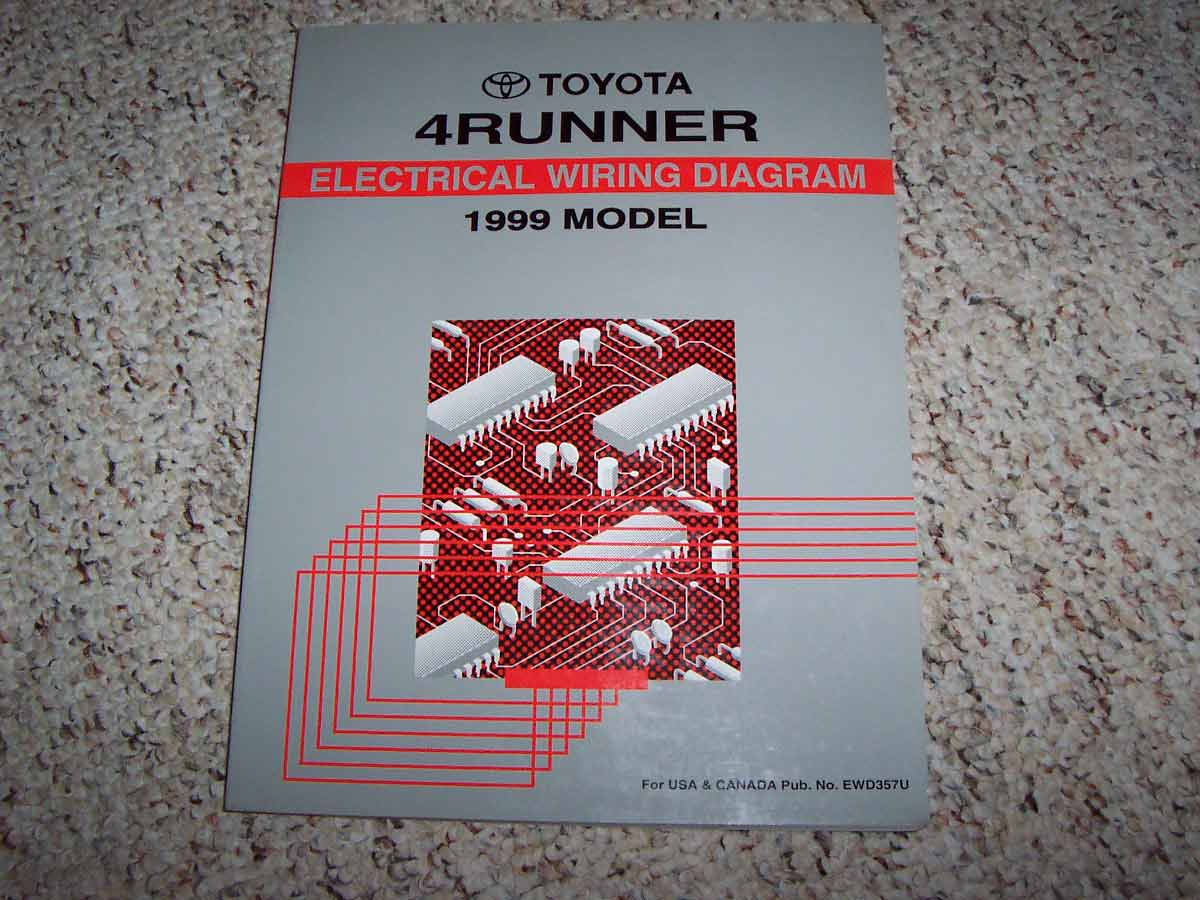 1998 Toyota 4runner Electrical Wiring Diagram Manual