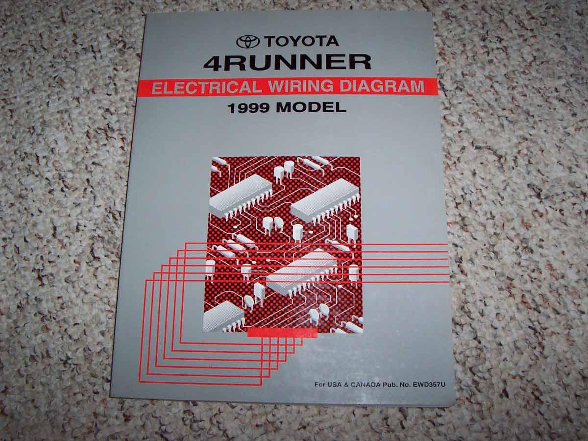 1998 Toyota 4Runner Electrical Wiring Diagram Manual - DIY ...