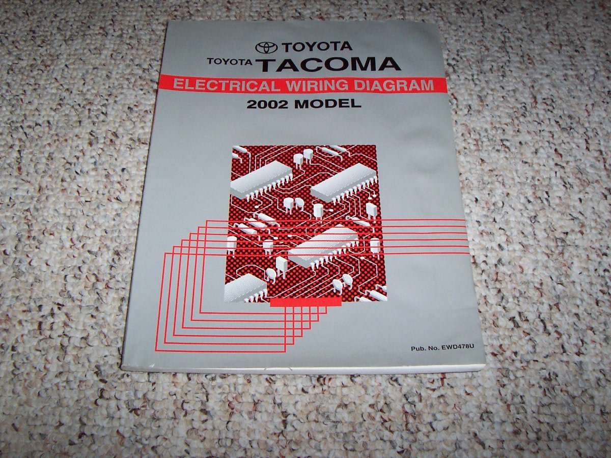 2002 Toyota Tacoma Electrical Wiring Diagram Manual