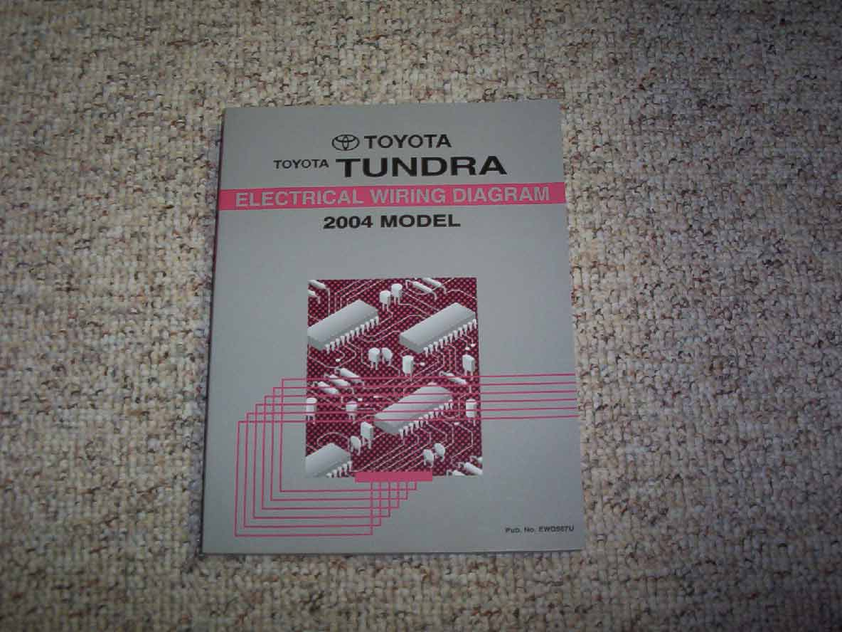 2004 Toyota Tundra Electrical Wiring Diagram Manual