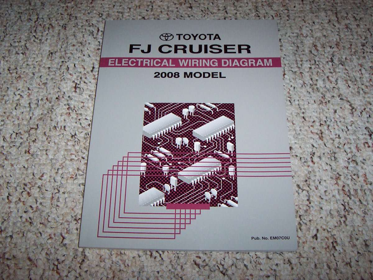 2008 Toyota Fj Cruiser Electrical Wiring Diagram Manual