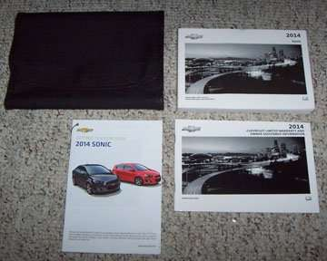 2014 chevrolet sonic owner s manual set. Black Bedroom Furniture Sets. Home Design Ideas