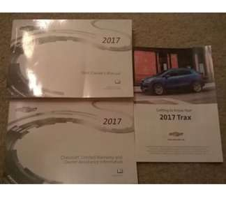 2017 chevy trax owners manual