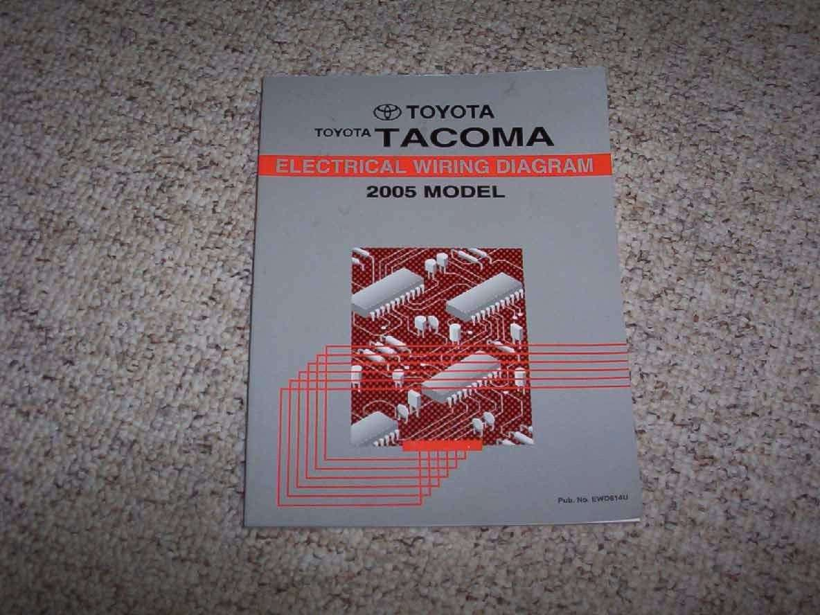 2005 Toyota Tacoma Electrical Wiring Diagram Manual