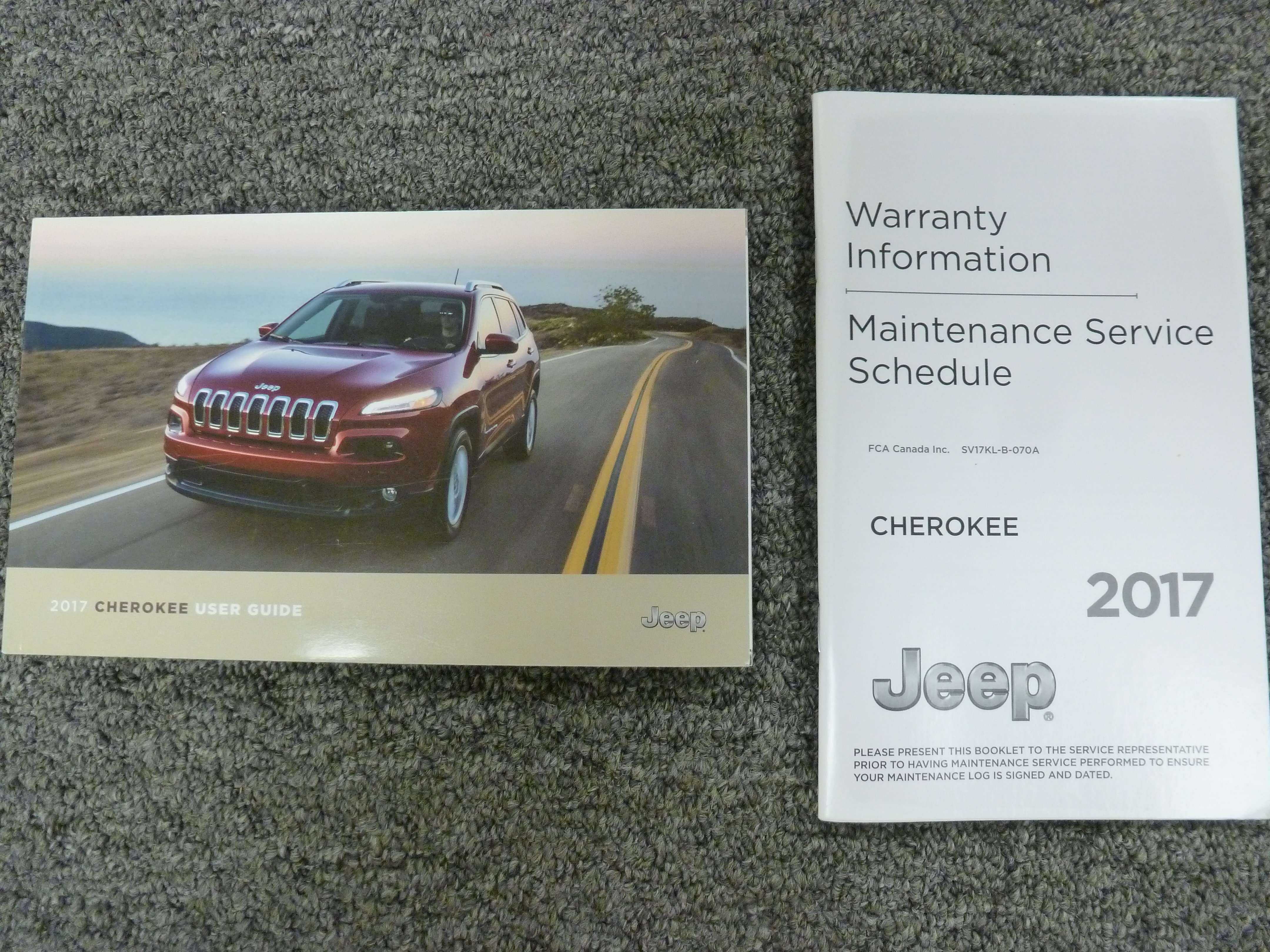 2017 jeep cherokee trailhawk owners manual