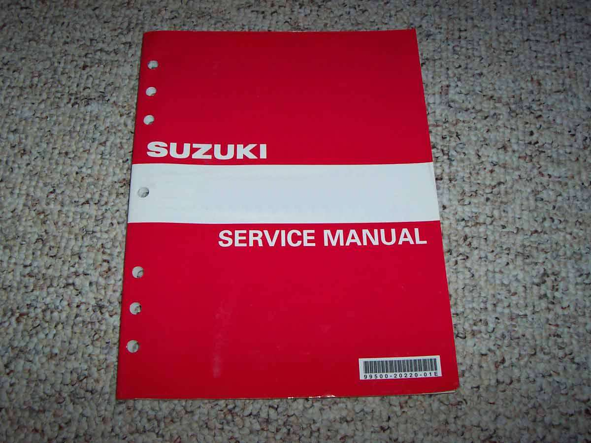 Service Manual For 2005 Suzuki Boulevard C90  Vl1500