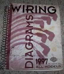 1997 Harley Davidson Touring Models Electrical Wiring ...