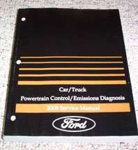 2008 Ford E-Series E-150, E-250, E-350 & E-450 Powertrain ...