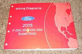 2015 Ford F-250 Super Duty Truck Wiring Diagram Manual ...