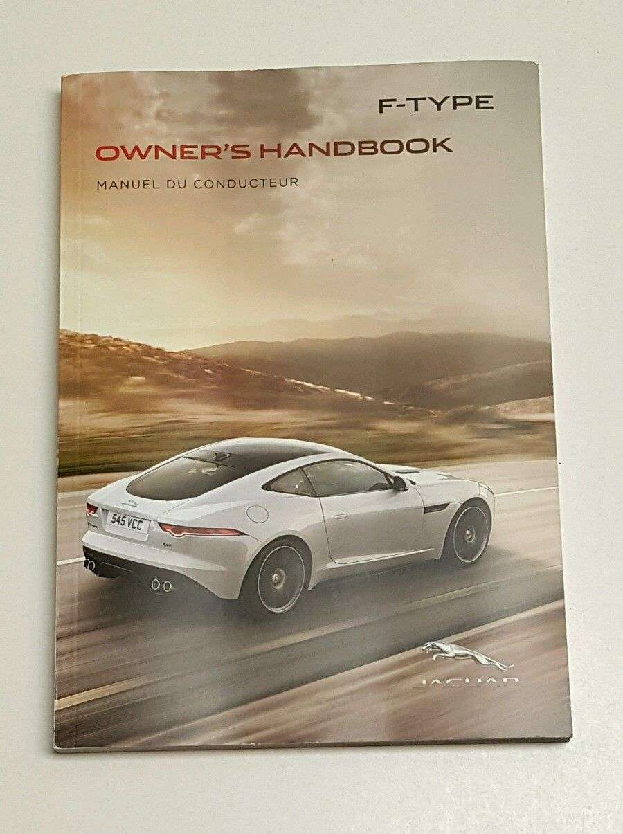 2016 Jaguar F Manual Guide