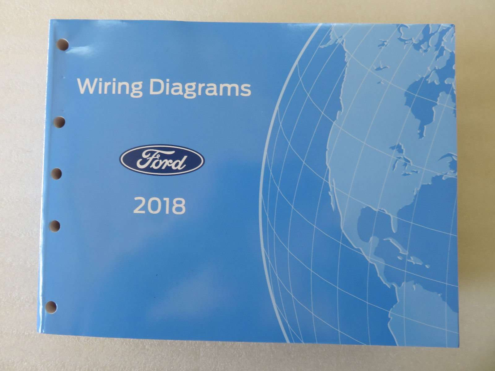 2018 Ford F-super Duty Truck Wiring Diagram Manual