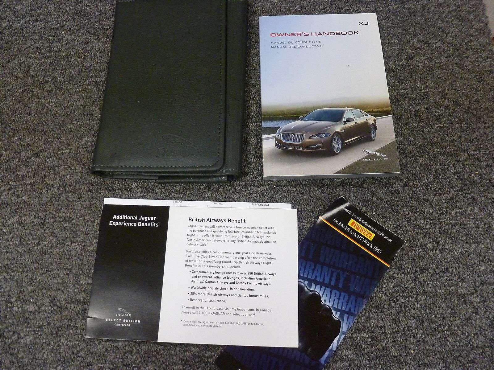 2016 Jaguar Xj Series Owner U0026 39 S Operator Manual User Guide